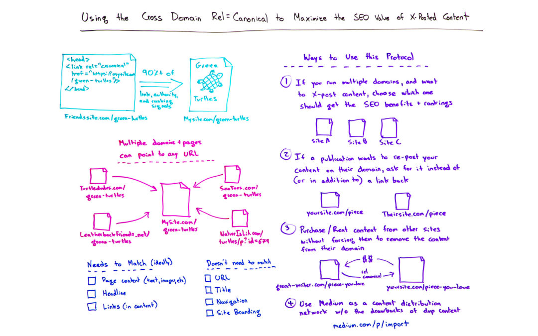 Using the Cross Domain Rel=Canonical to Maximize the SEO