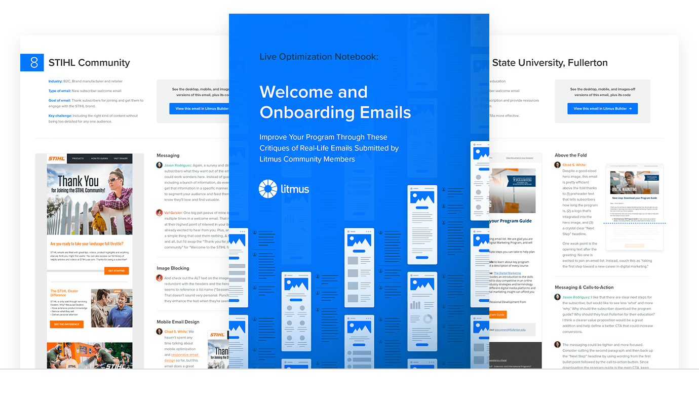 Building effective onboarding and welcome emails — ebook cover
