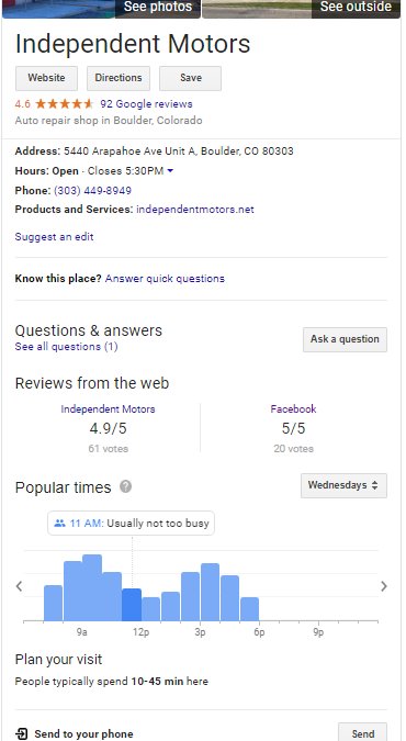 Do Businesses Really Use Google My Business Posts? A Case Study