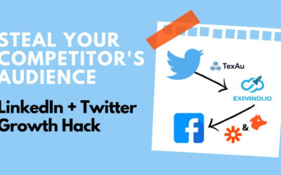 Get Your Competitor's Audience: LinkedIn + Twitter Growth Hack