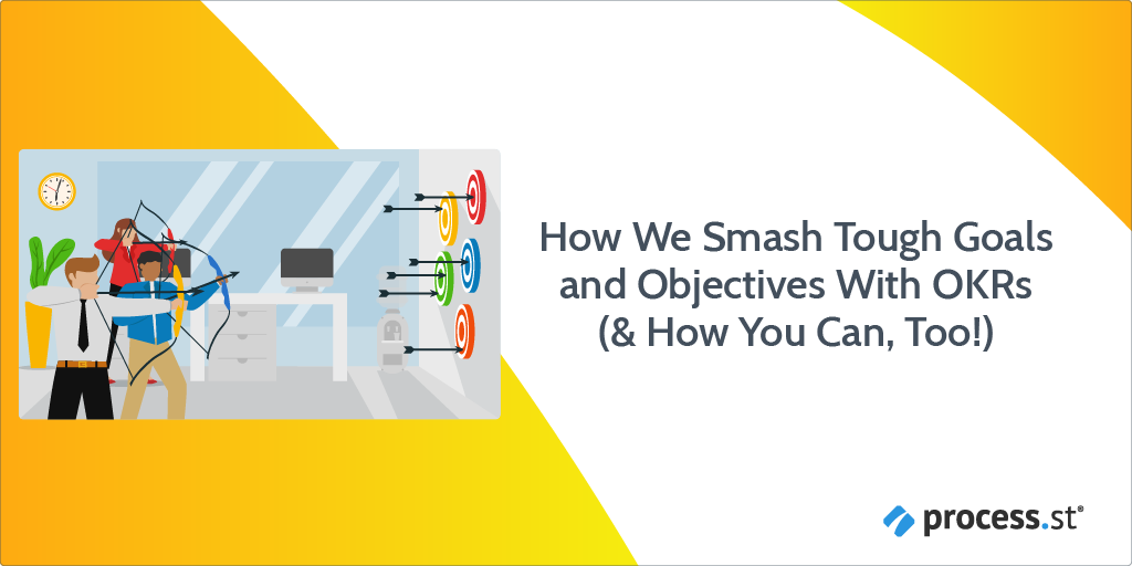How We Smash Tough Goals and Objectives With OKRs (& How You Can, Too!)