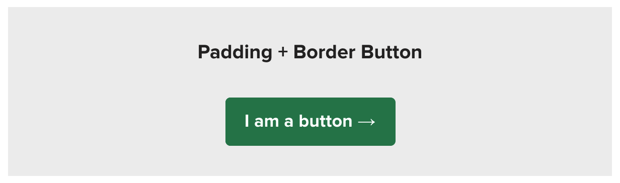 padding and border email button
