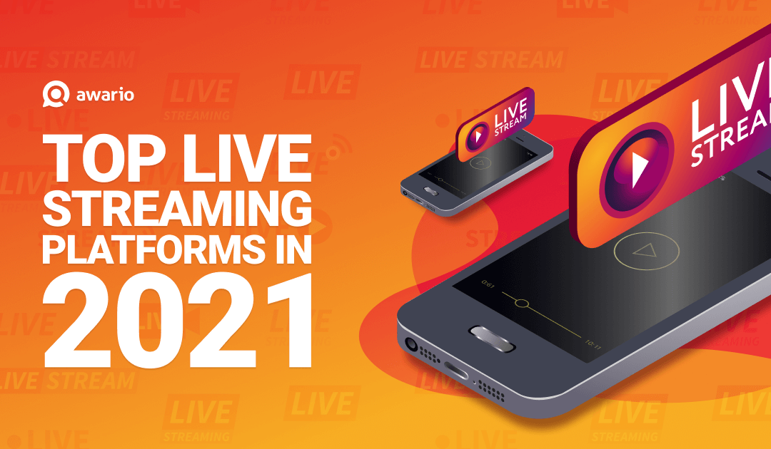 Infographic: 5 popular live streaming platforms in 2021